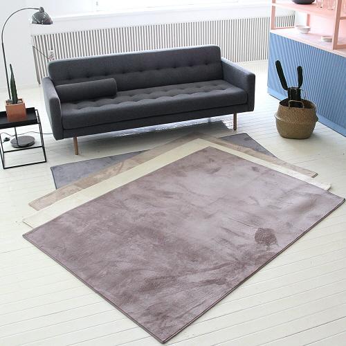 [리빙갤러리] 밍크퍼 단파일 MBR100 극세사 러그카페트(100x150cm)